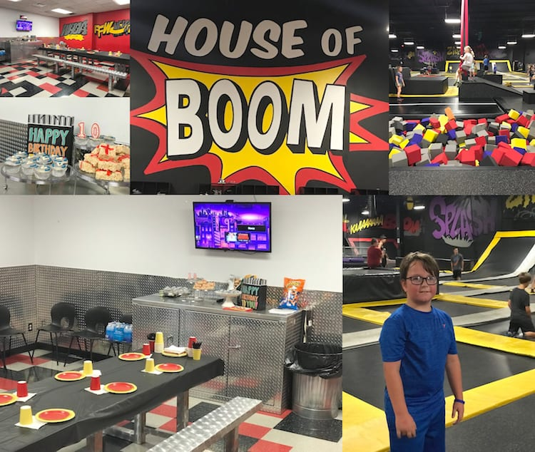 Host Your Next Birthday Party At House Of Boom