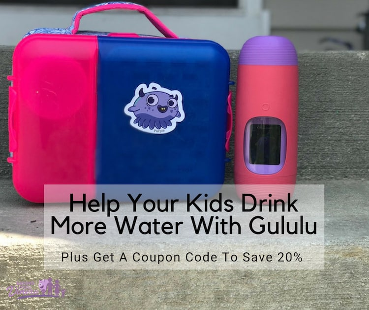 Help Your Kids Drink More Water With Gululu – An Interactive Smart Water Bottle & Health Tracker