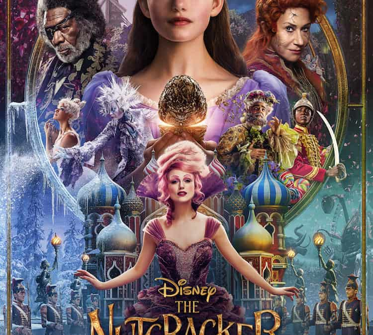 THE NUTCRACKER AND THE FOUR REALMS – New Poster & Trailer Now Available!!! #DisneysNutcracker