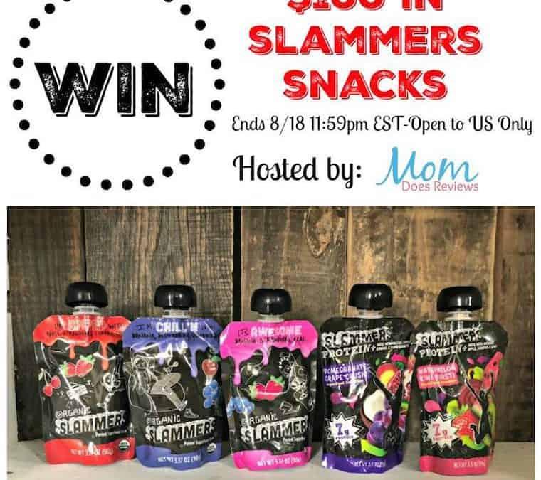 Enter To Win in $100 in Slammers Snacks