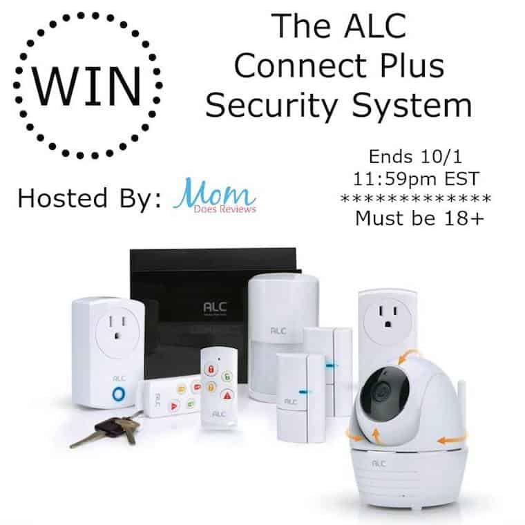 Enter To Win An ALC Connect Plus Home Security System