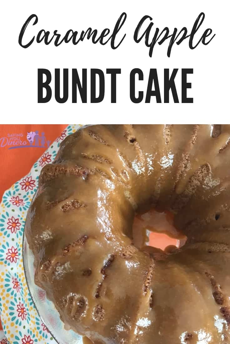 Fall recipes usually center around Pumpkin Spice but I prefer the flavors of apple caramel. You will love this recipe - How To Make Caramel Apple Bunt Cake. It's the perfect Fall dessert idea. #Cake #apple #caramel #dessert #Bundt