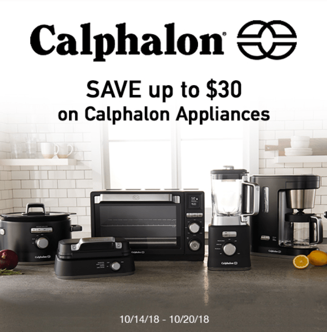 Check Out the New Line Of Appliances From Calphalon At Target