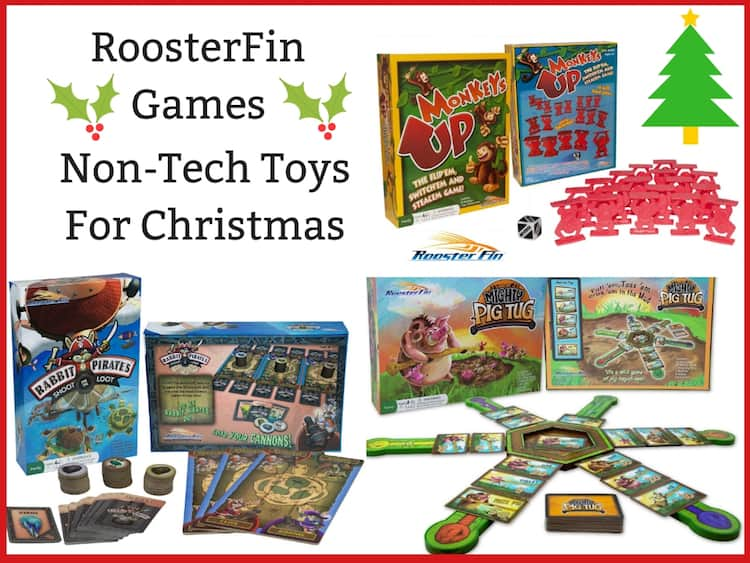 RoosterFin Games – Non-Tech Toys For Christmas