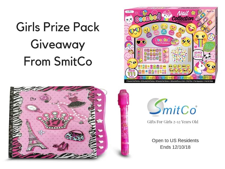 Girls Prize Pack Giveaway From SmitCo