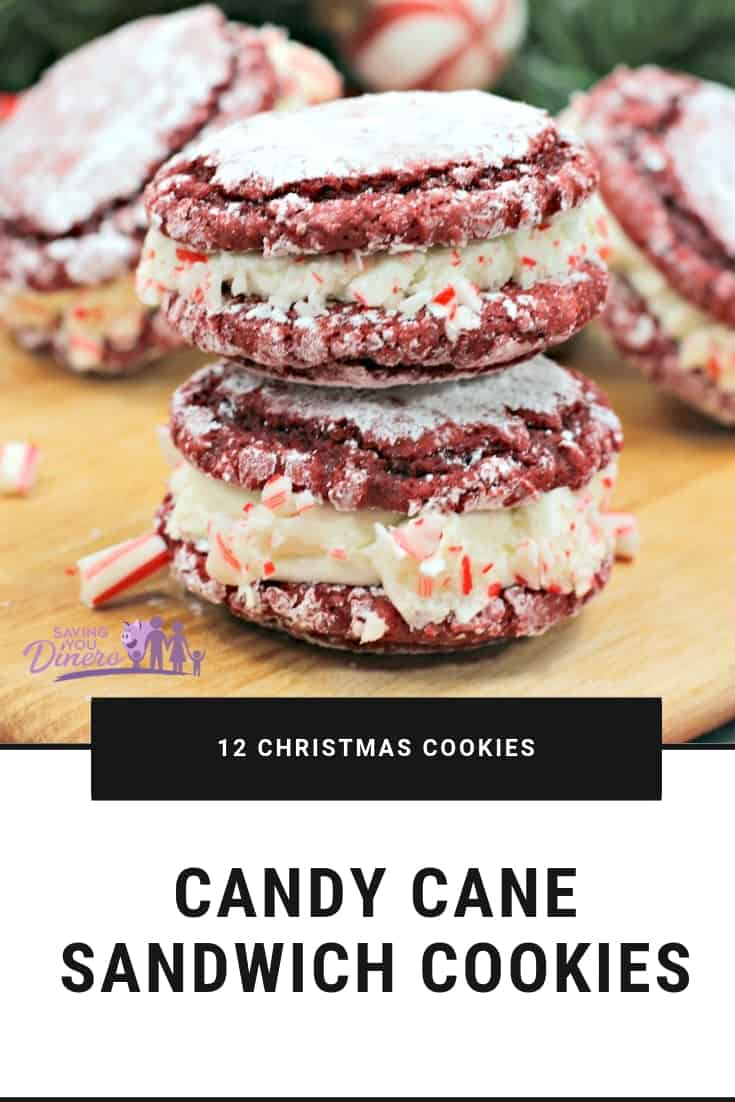 candy cane sandwich cookie 11 more christmas cookie recipes