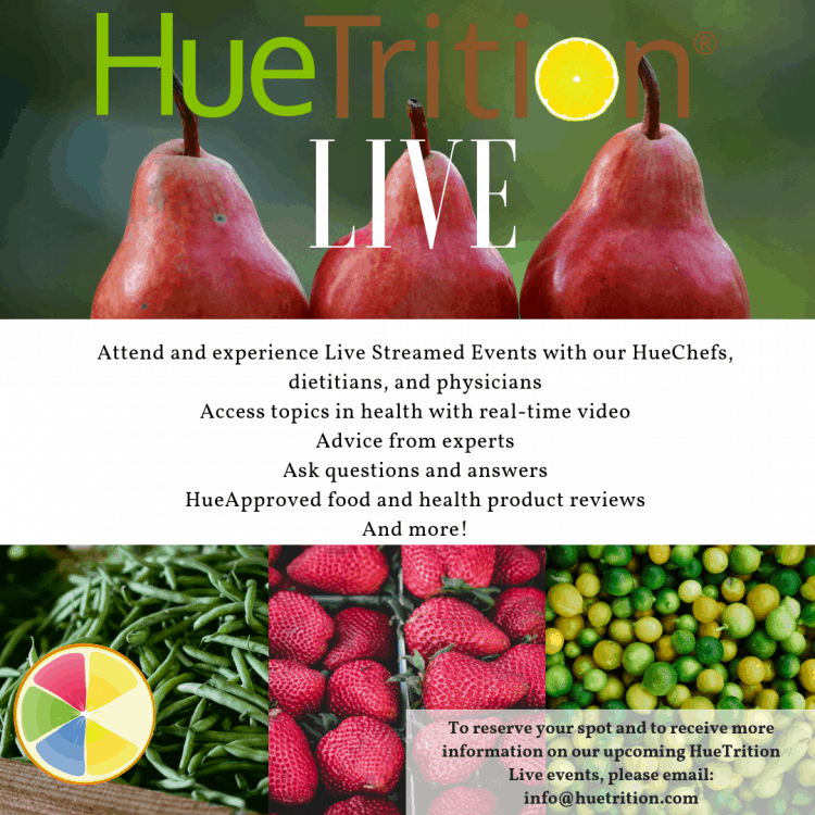 Learn About HueTrition Live + Win A $25 Gift Card Of Your Choice #HueTrition