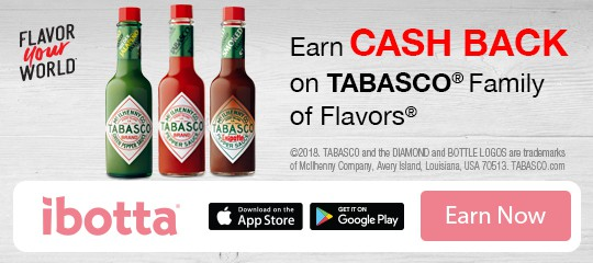 Get $1 Off TABASCO® Sauce at Walmart with Ibotta