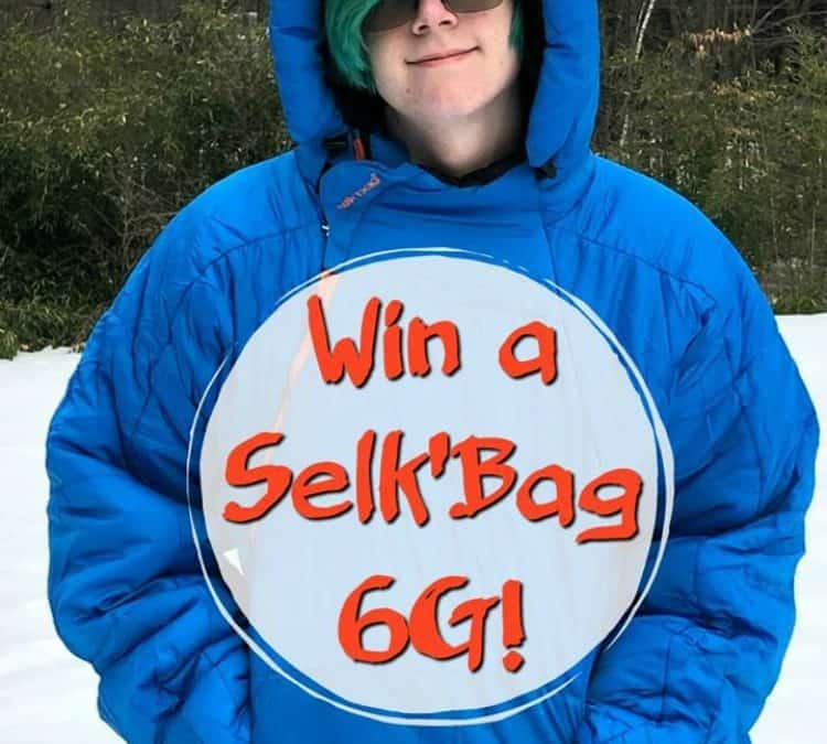 Win A Selk'Bag – A Wearable, Form-Fit Sleeping Bag