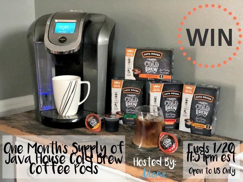 Win One Month's Supply of Java House Cold Brew Coffee Pods