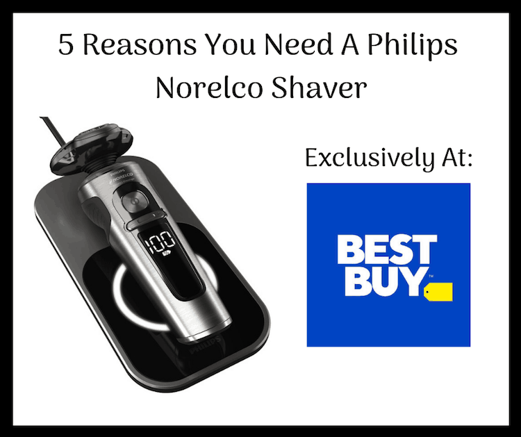 5 Reasons You Need A Philips Norelco Shaver – Only At Best Buy