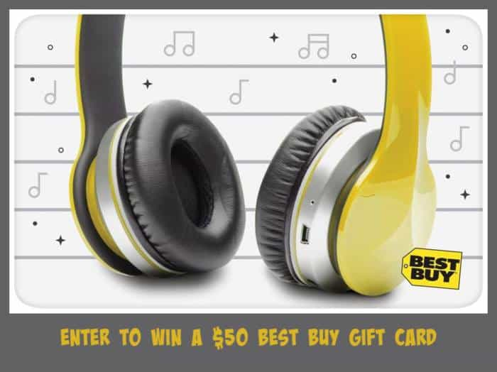Giveaway – Enter To Win A $50 Best Buy Gift Card!
