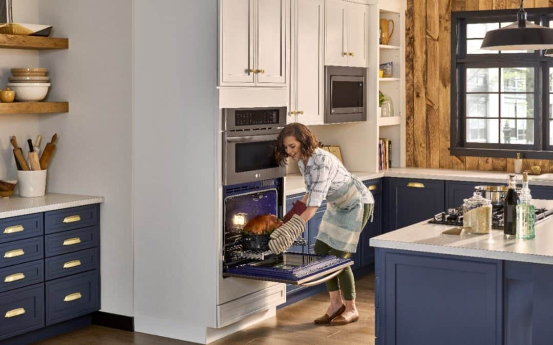 Upgrade Your Kitchen With A LG Combination Double Wall Oven