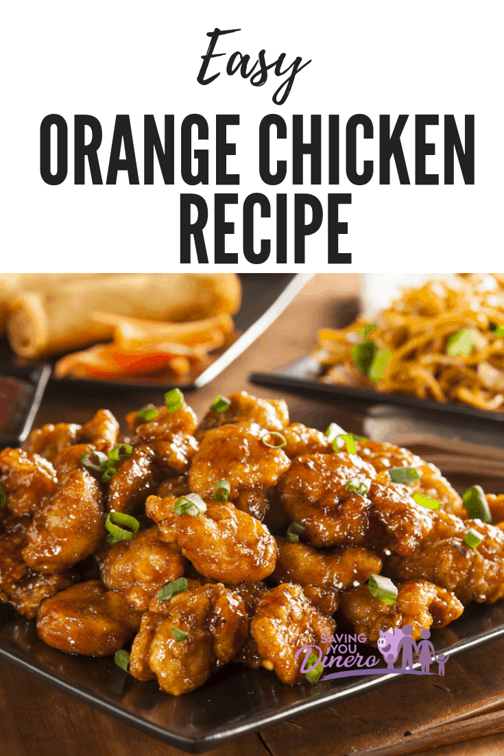 No need to go out to enjoy this popular take out dinner recipe. You can make this recipe for Easy Orange Chicken at home! It pairs perfectly with a side of fried rice. The sauce is so yummy.