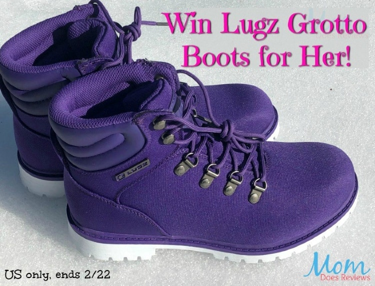 Lugz Grotto 6-inch boots Giveaway