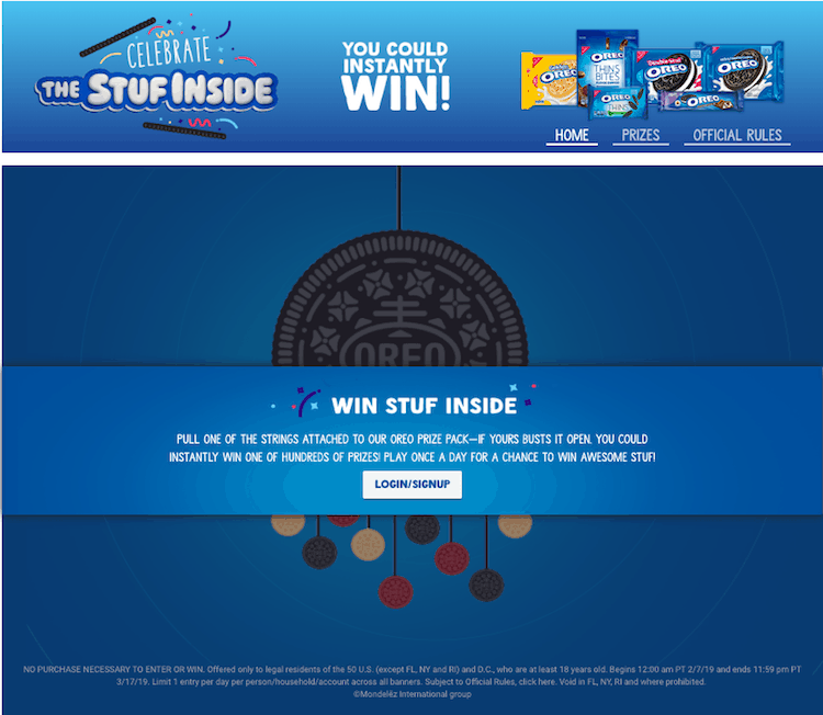 Win Prizes From OREO & Kroger – I Won $25 Off My Groceries!!