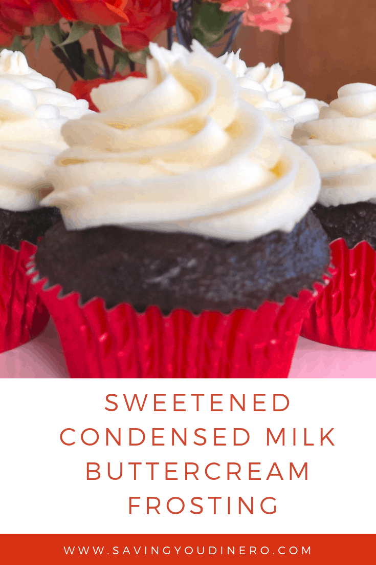 Are you looking for a new buttercream frosting recipe? Try out this homemade Sweetened Condensed Milk Buttercream Frosting Recipe. It's not as sweet as vanilla buttercream icing and very delicious.