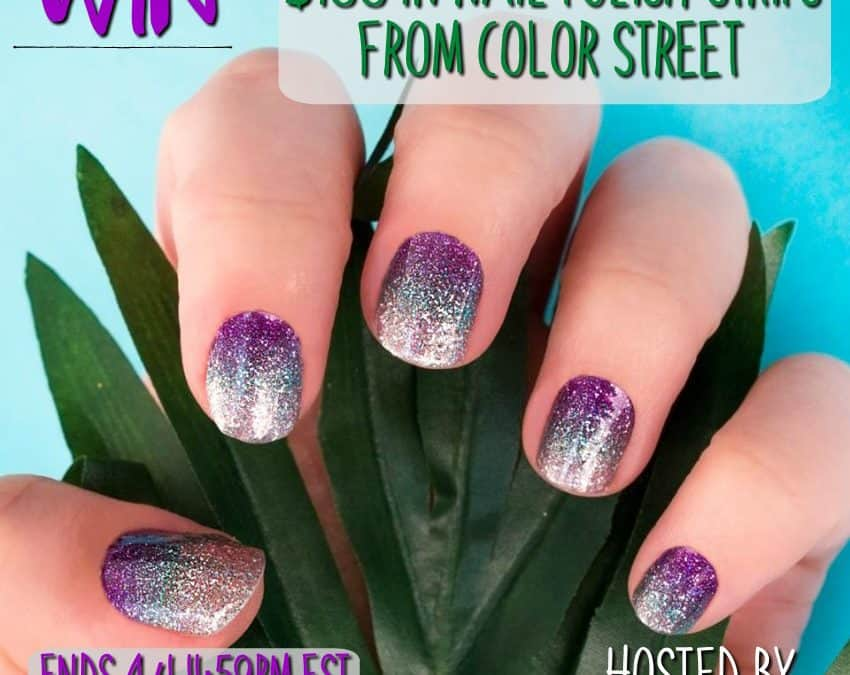 Win $100 In Nail Polish Strips From color STREET