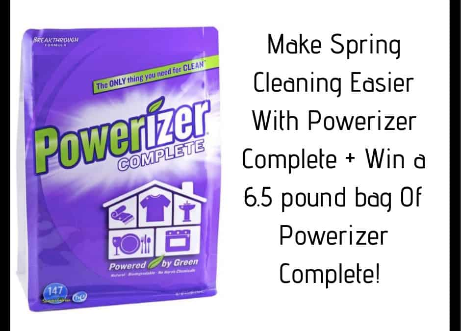 Make Spring Cleaning Easier With Powerizer Complete + Giveaway