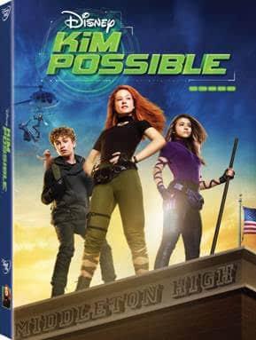 Bring Home Kim Possible on Disney DVD + DIY Pendant Necklace