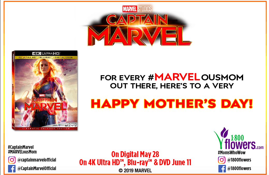 Captain Marvel's Release Dates + Check Out My Pretty Flowers!