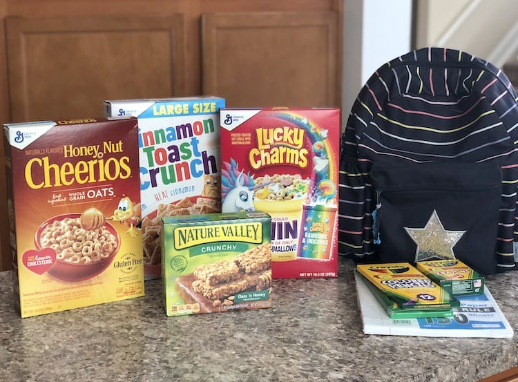 Getting Ready For Back To School With General Mills At Publix