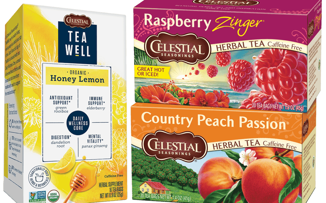 Print Now: Save On Celestial Seasonings TeaWell Organic Tea