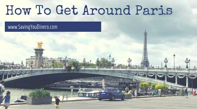 How To Get Around Paris