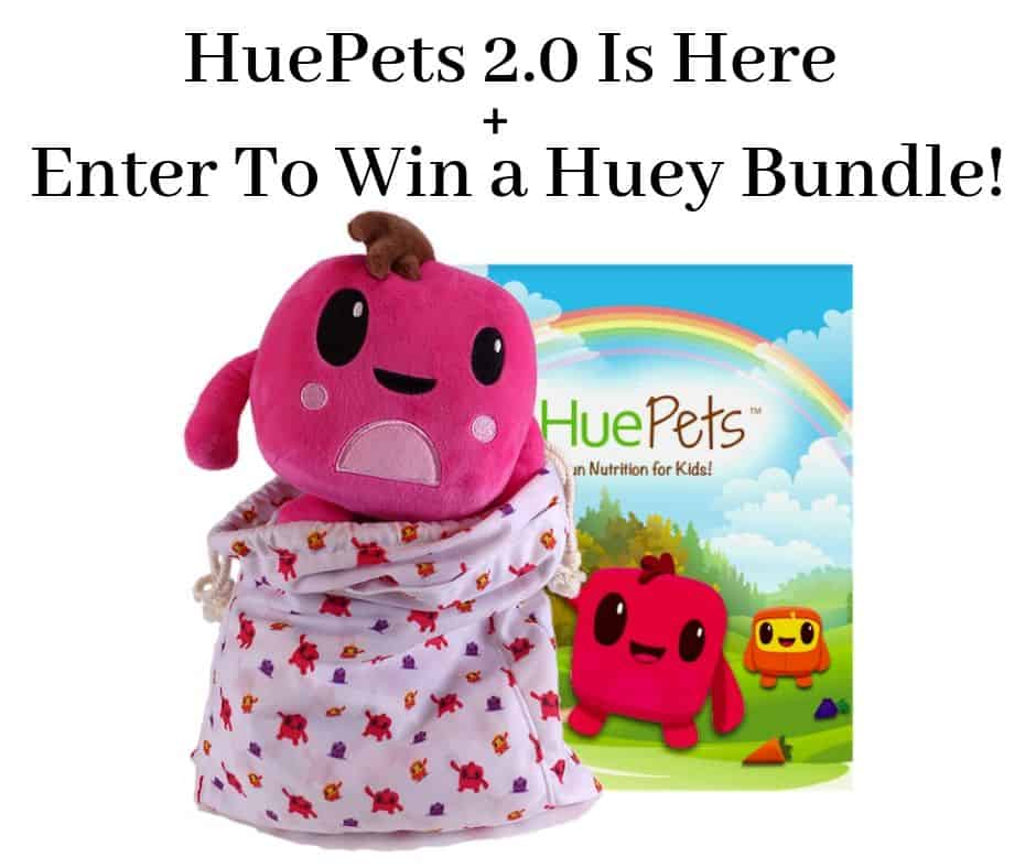 HuePets 2.0 Is Here + Huey Bundle Giveaway #HueTrition