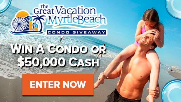 Enter To Win An Oceanfront Condo Or $50,000 Cash