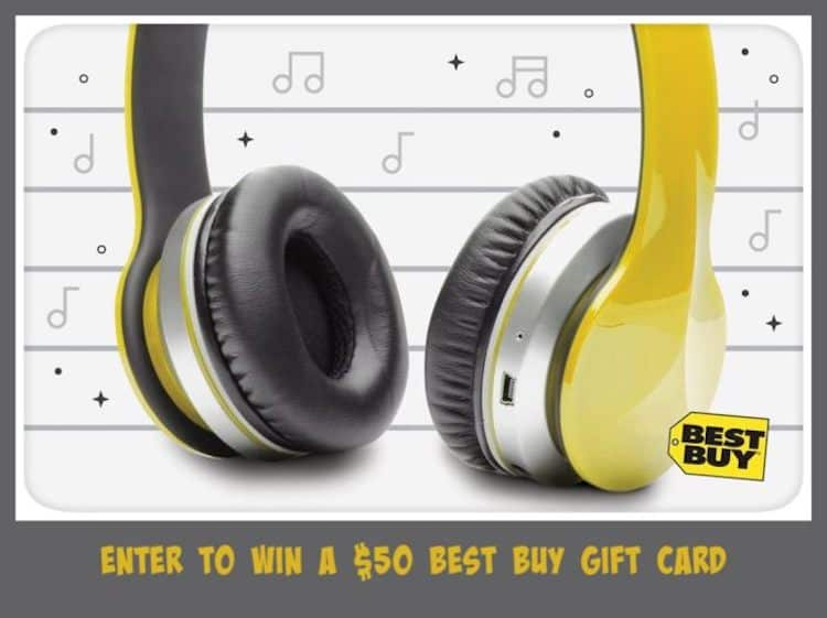 Giveaway: Win A $50 Best Buy Gift Card