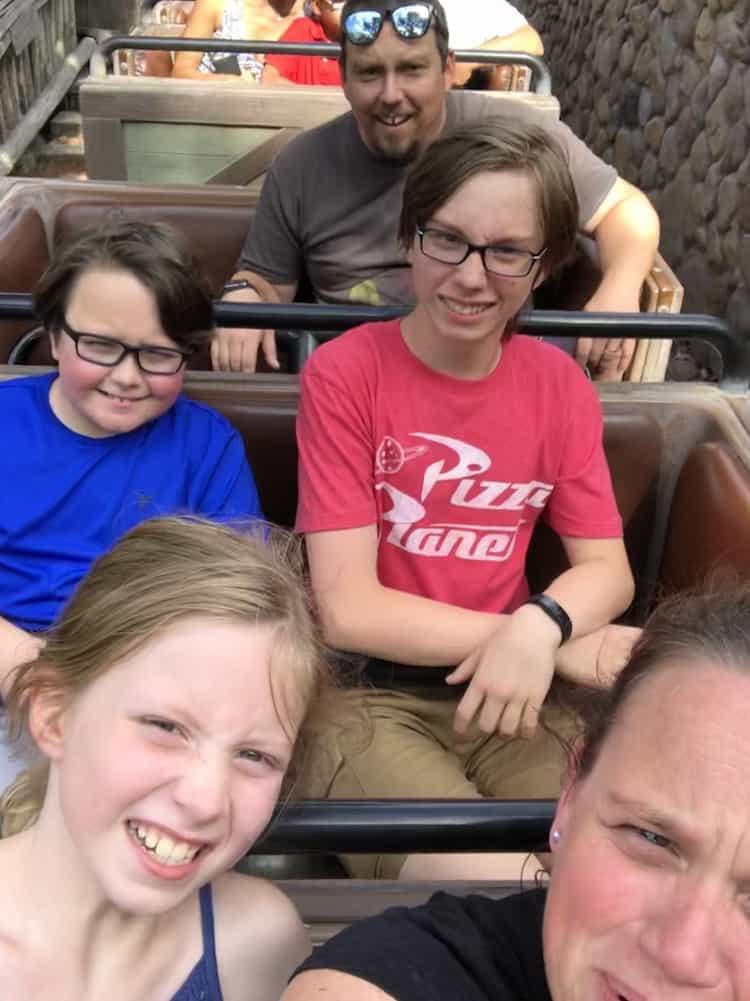 Selfies On My Family Trip To Paris