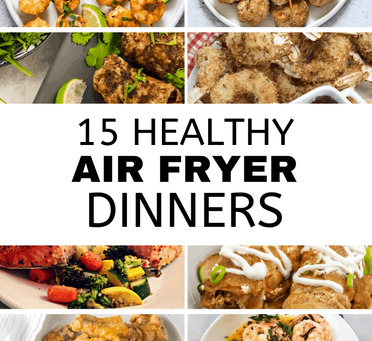 15 Healthy Air Fryer Dinners