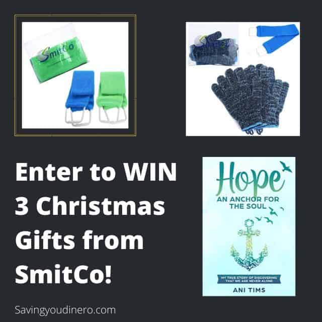 Giveaway - Enter to WIN 3 Christmas Gifts from SmitCo #2019HolidayGuide