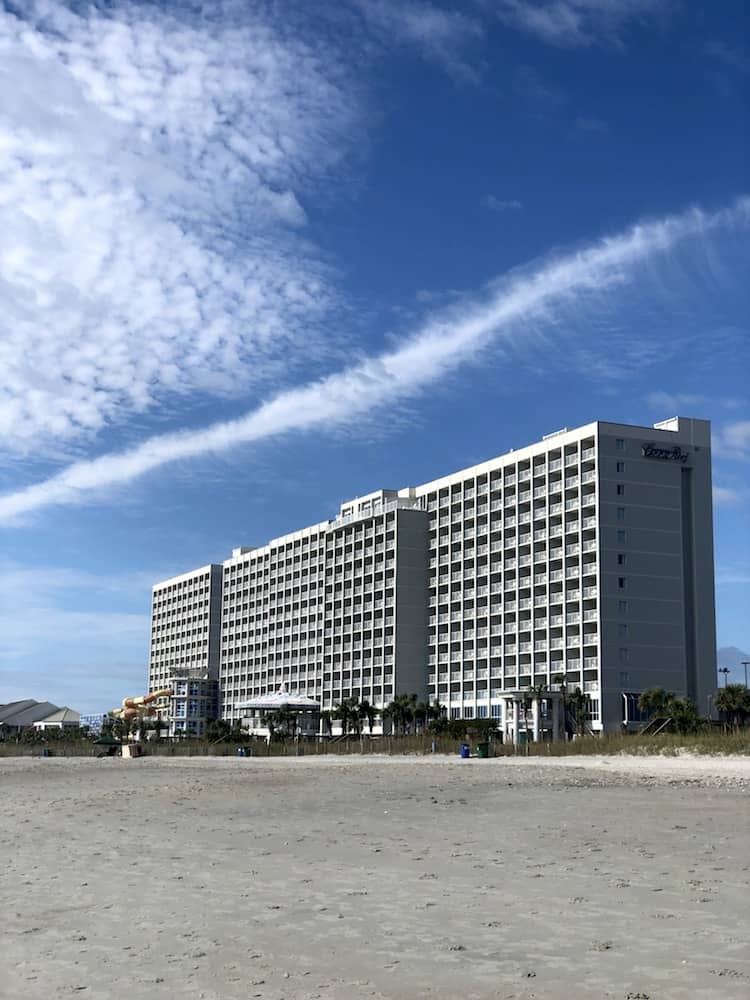 Myrtle Beach Resorts - Crown Reef Beach Resort View