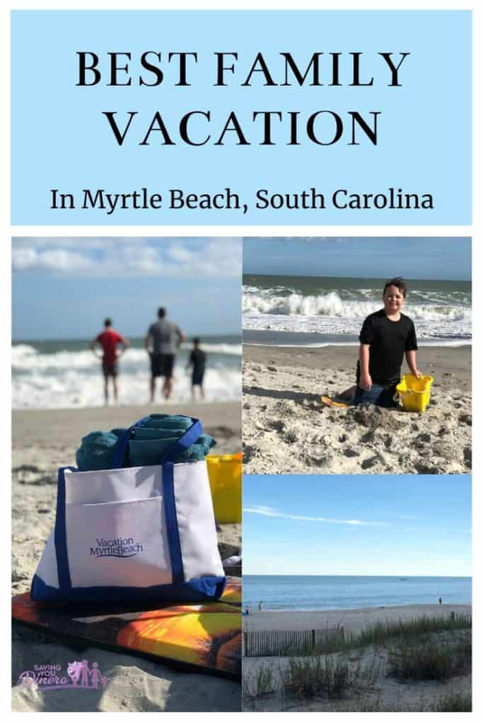 If you are planning a beach family vacation - this is the best resort to stay when you visit Myrtle Beach South Carolina. This hotel is on the ocean and on a budget! Our kids loved it. It's a great resort with an indoor waterpark and heated pools!