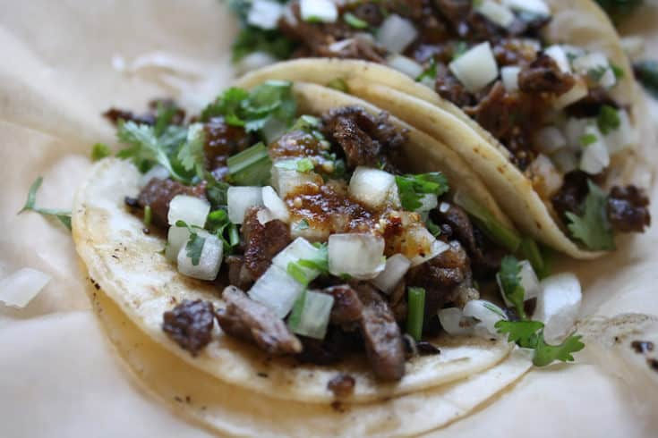 Mexican Street Tacos Carne Asada Recipe Saving You Dinero