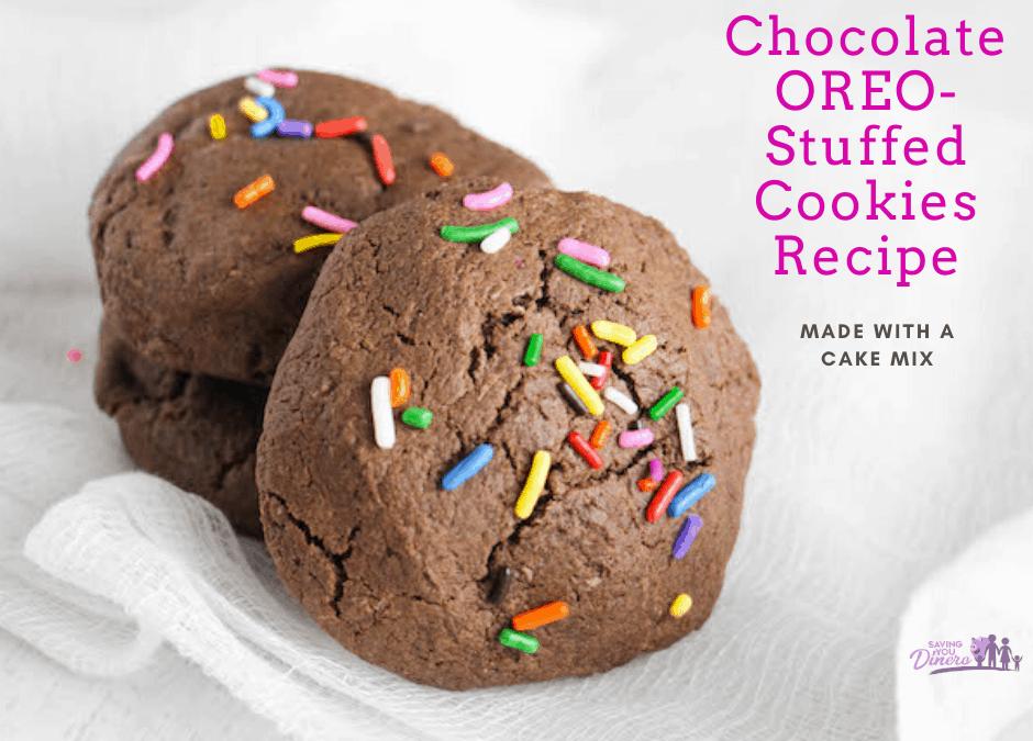 Chocolate OREO-Stuffed Cookies Recipe