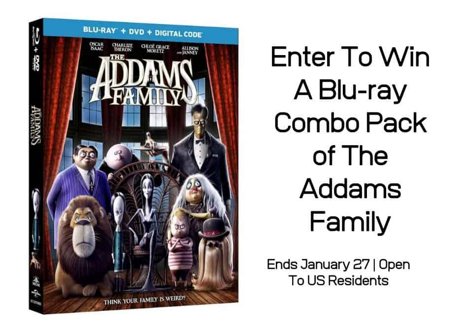 Enter To Win A Blu-ray Combo Pack of The Addams Family