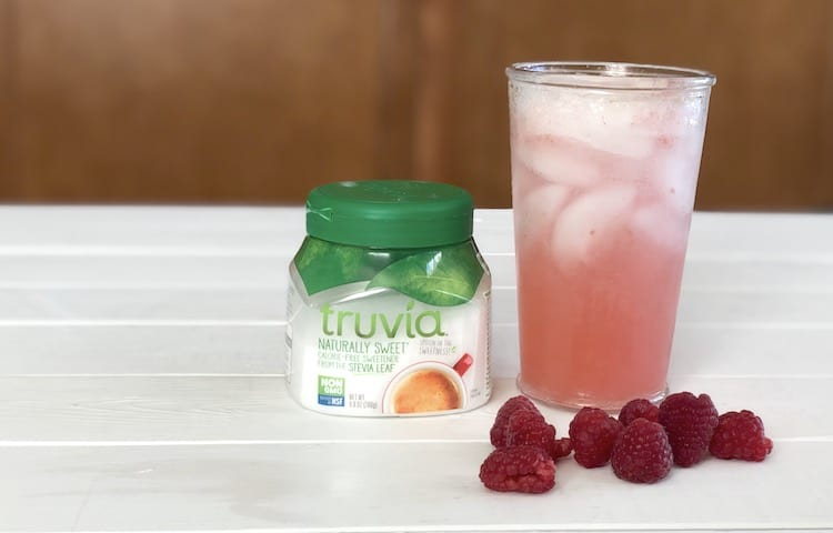 Raspberry Soda Made With Truvia + Coupon