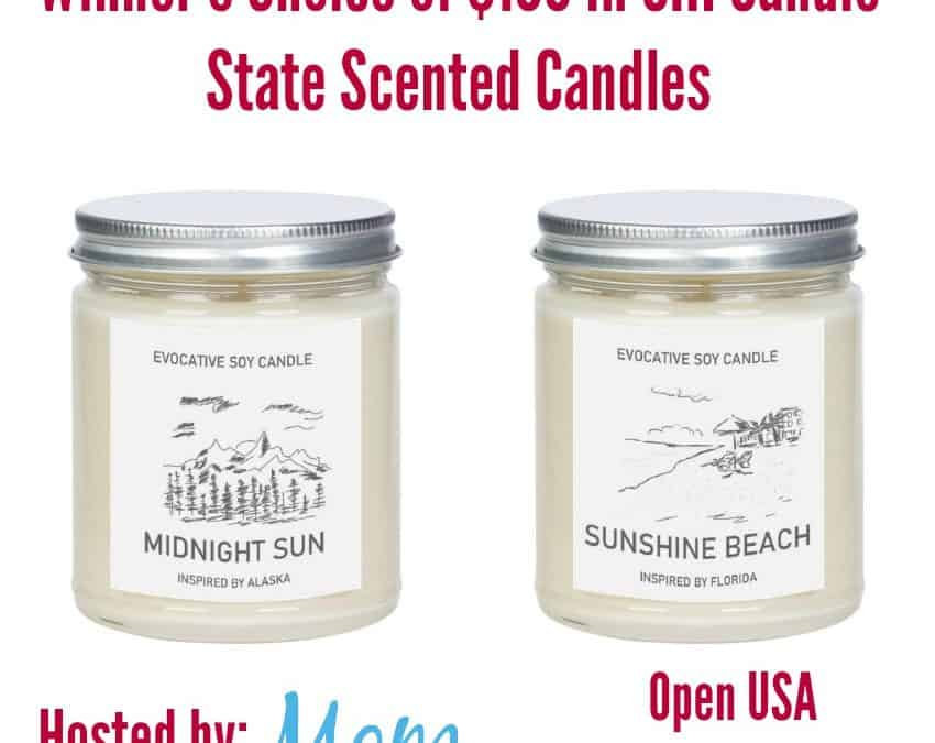 Win $100 in CHI Candle State Scented Candles