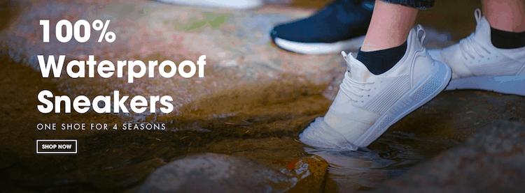Loom Footwear – 100% Waterproof Sneakers