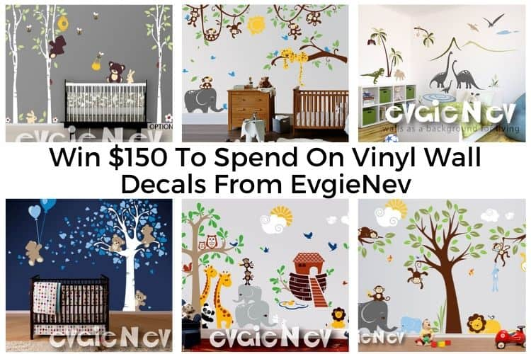 Win $150 To Spend On Wall Decals From EvgieNev