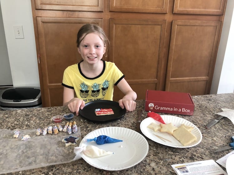 Do your kids miss doing fun things in the kitchen with Grandma? You have to check out Gramma In A Box! It's a FUN Subscription Boxes For Kids. Learn more!