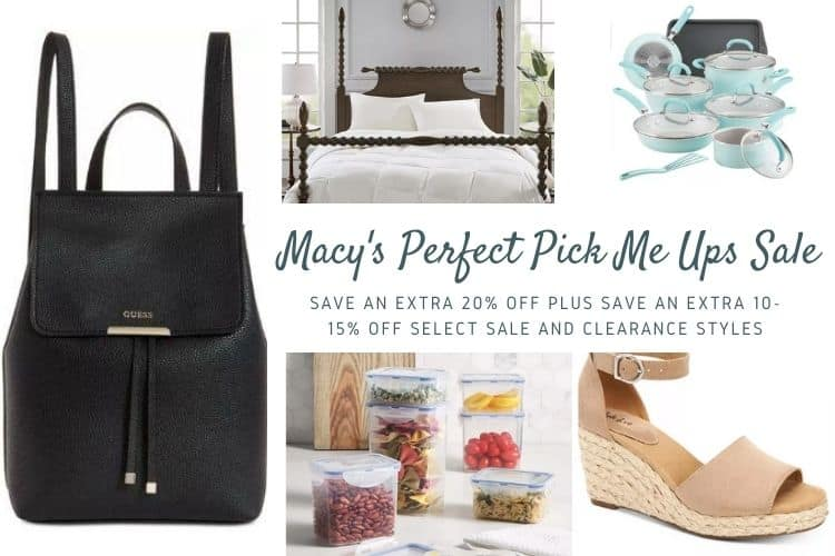 Macy's Perfect Pick Me Ups Sale + Gift Card Giveaway