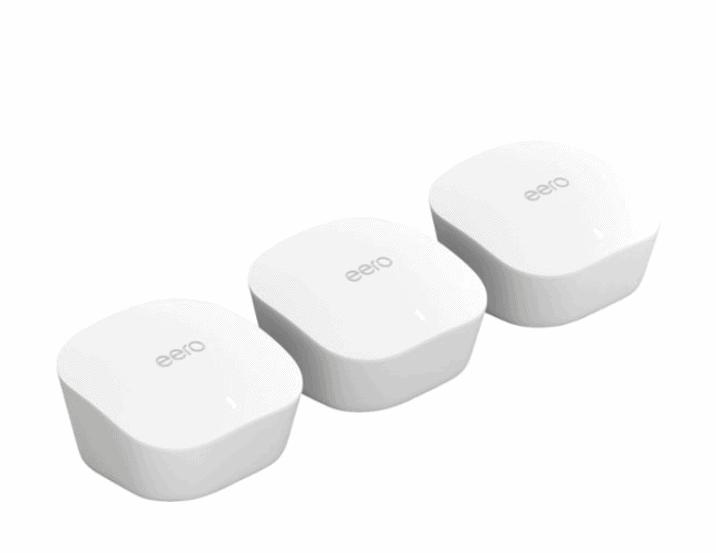 eero – AC Dual-Band Mesh Wi-Fi System (3-Pack) + Echo Show $199 Shipped