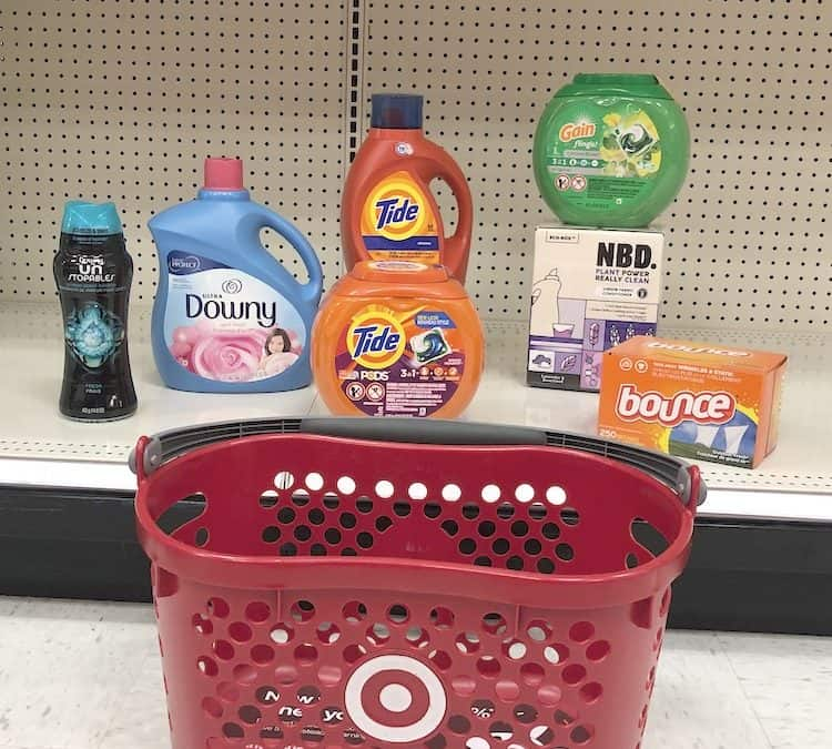 Check Out This Laundry Deal At Target ~ 5 Items For $29.95 Total