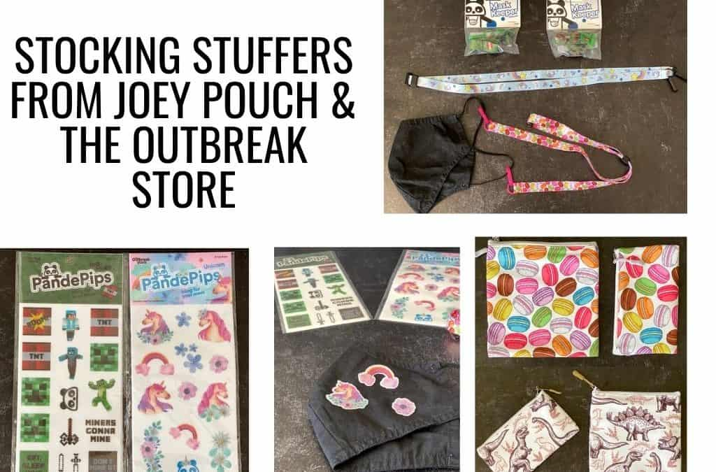 Stocking Stuffers From Joey Pouch & The Outbreak Store