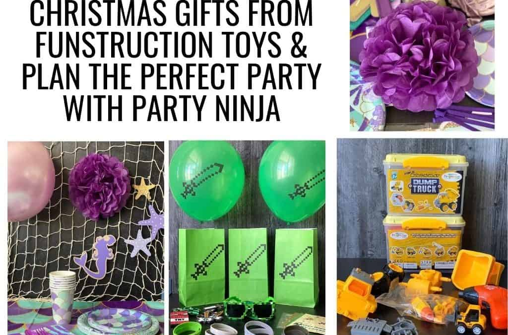 Christmas Gifts From Funstruction Toys & Plan The Perfect Party With Party Ninja