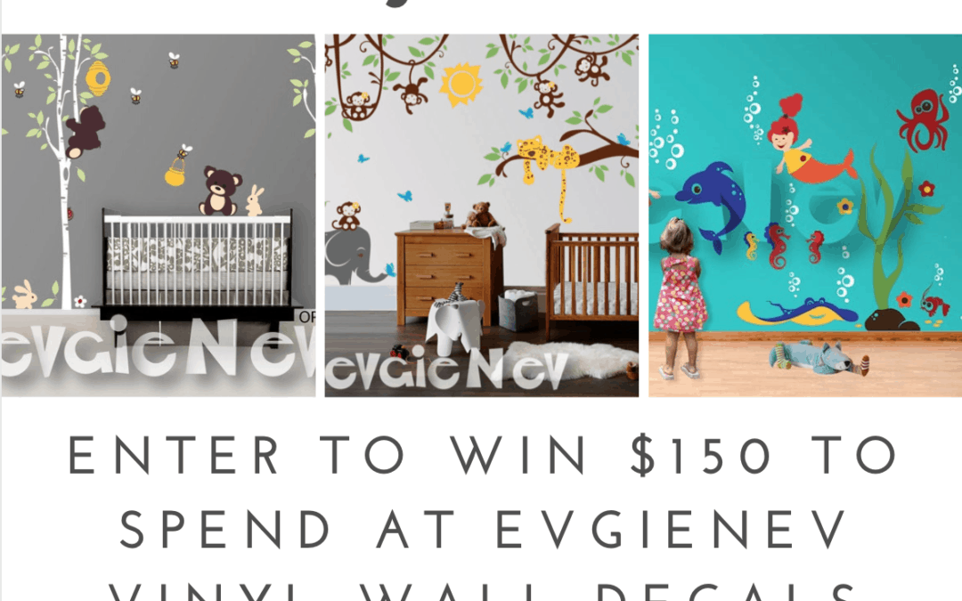 Holiday Gift Guide – EvgieNev Wall Decals Giveaway